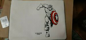NWT Coach Captain America Marvel iPad Tablet Sleeve Pouch