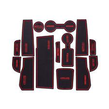 Non-Slip Interior Soft Rubber Door Panel Mats Cup Holder Pad For Chevrolet Cruze