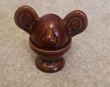 Unusual Rare Vintage Denmead Egg Cup/Warmer with Large Ears, Large Nose