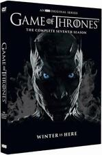 Game of Thrones Season 7 DVD Complete Seventh Series Collection (2017)