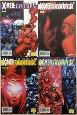 X-Men The Search For Cyclops #1 - #4 complete series.  #3 SS (2000 Marvel)