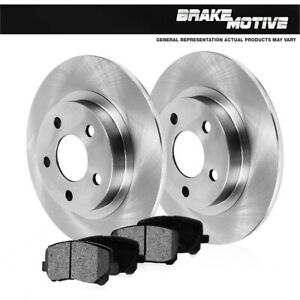 Rear Rotors Metallic Pads For Impala Monte Carlo Grand Prix Am Regal Intrigue