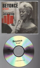 Promo Only BEYONCE At Last 1 Track OOP 2008 CD-R EX
