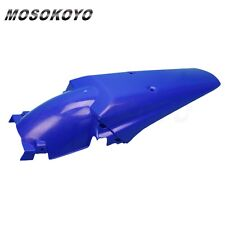 Motocross Rear Fender Universal For Yamaha TW XT WR 250 450 Dirtbike Blue