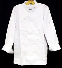 White Chef Coat 4Xl Cia Culinary Institute America Double Breasted New 9602