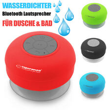 Wireless Bluetooth Lautsprecher kabellos Sound Box Wasserdicht für Dusche, Bad