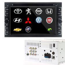 """6,2"""" Double 2 DIN lecteur DVD de voiture Autoradios SD USB Bluetooth ipod HD EU*"""