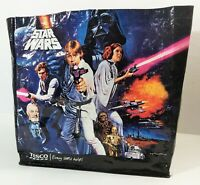 A NEW HOPE 1977 Star Wars Vintage Shopping Tote Bag Luke Leia Han Solo Vader