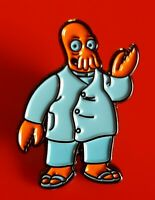 Futurama Pin Doctor Zoidberg Dr Enamel Metal Brooch Badge Lapel Kids Adult Gift