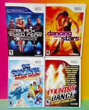 Black Eyed Peas, Country Dance, Smurf, Dancing Stars Nintendo Wii / Wii U Lot