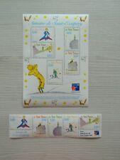 10 Timbres Le Petit Prince  Antoine de Saint Exupéry France Carnet Bloc  RARE