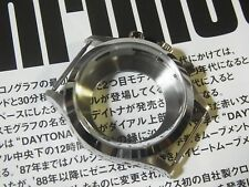Stainless Steel Watch Case Set fit Seagull TY2901,2902 Pre-Daytona Smooth Bezel