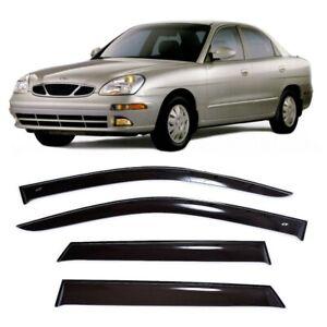 For Daewoo Nubira 1997-2003 Window Visors Side Sun Rain Guard Vent Deflectors