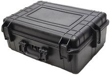 "22"" Hard Shell Case for Guns DSLR Cameras W/Pelican 1520 Style Pluck Foam NEW"