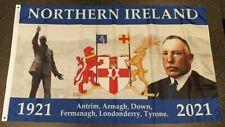 Rare Northern Ireland Centenary ulster loyalist orange order abod flag