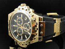Aqua Master Jojo Joe Rodeo Gold Rubber Swiss Signature 26 Diamond Watch 48 MM