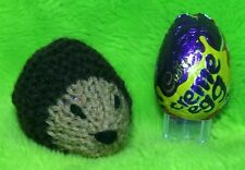 KNITTING PATTERN  - Hedgehog chocolate cover fits Creme Egg