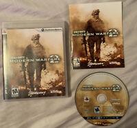 Call of Duty Modern Warfare 2 MW2 Sony PlayStation 3 PS3FAST SHIPPING 🔥👀