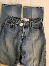 Express Bleus Flare Jeans Juniors Size 1/2 Used