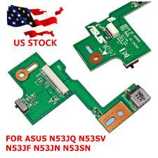 DC POWER JACK SWITCH BOARD Replacement FOR ASUS N53JQ N53SV N53JF N53JN N53SN