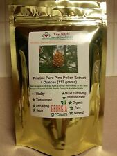 Pristine Pure Pine Pollen Extract- 4 Ounces-112 Grams 99% Broken Cell Wall