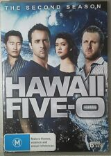 HAWAII FIVE -O: THE SECOND SEASON (6 Discs) DVD Region 4