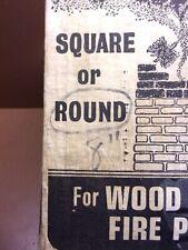 "8"" ROUND WIRE CHIMNEY BRUSH No Fittings Schaefer Brush Mfg. Co. Milwaukee WI USA"