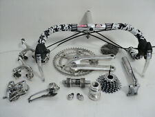 Vintage 90s CAMPAGNOLO C RECORD 8s group set build kit gruppe EXC !