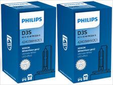 2x NEW! PHILIPS WHITE VISION D3S 42403WHV2C1 5000K XENON HID HEADLIGHTS BULBS