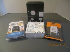 APPLE WORLD TRAVEL ADAPTER KIT AND 2 OTHER ADAPTERS