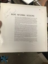 SIGNED More  Informal Sessions At Squirrels May 1966 ASHCRAFT MIS 1 LP