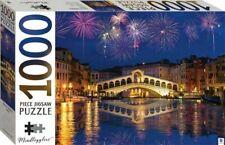 Mindbogglers Series 14: Rialto Bridge, Venice, Italy 1000 Piece Jigsaw Puzzle