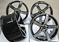 "20"" ALLOY WHEELS CRUIZE BLADE BP BLACK POLISHED STAGGERED CONCAVE 20 INCH ALLOYS"