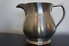 Excellent Vintage marked pewter pitcher Reed & Barton RP42 [Y6-W7-A8]