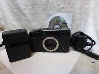 Fujifilm X Series X-Pro1 16.3MP Digital Camera  Black Body Only with accessories