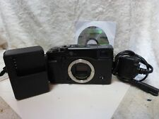 Fujifilm X Series X-Pro1 16.3MP Digital Camera  Black Body Only with accessories