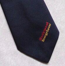 Vintage Tie MENS Necktie Club Association ROCKWOOL ENERGYSAVER