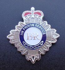 HM HMP Prison Service CREST tie tac pin badge ,