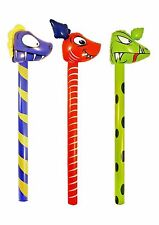 Inflatables Dinosaurs Sticks 118 cm Party Games Kids Child Blow Up Toy