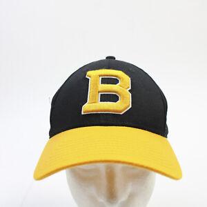 Boston Bruins Fanatics Adjustable Hat Unisex Black/Gold Used