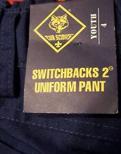 Cub Scouts Switchback2 Blue Uniform Convertible Cargo Pants Size 4 Nwt No Hem