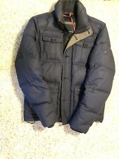Tommy Hilfiger Puffer Jacket Navy Size Small Mens