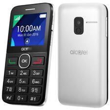 Telefono movil Libre sin contrato Alcatel 20-08G Grandes blanco personas mayores