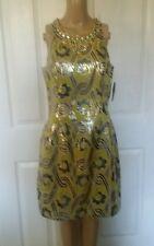 Lilly Pulitzer Woman's  Metalic Vintage Brocade Dress SZ 8. Pretty. Reg. $358.00