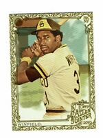 2019 Topps Allen & Ginter Gold #382 Dave Winfield SP San Diego Padres