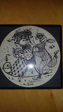 Rosenthal Wandteller Wiinblads poetische Keramik Das Jahr Januar