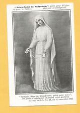 🌟IMAGE PIEUSE SANTINO NOTRE DAME DE PELEVOISIN 1924 BOURGES ARCHICONFRERIE   🌟