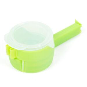 Reuseable Bag Clip Storage Food Sealing Kitchen Sealer Cap Type Spray Nozzle