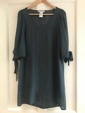 Paul & Joe Sister Grey Wool & Silk shift dress size 12 (Size 3)