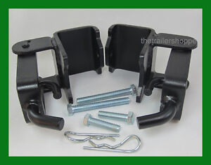 Weight Distribution Snap Up Bracket Trailer Hitch with Set Screw & Clip